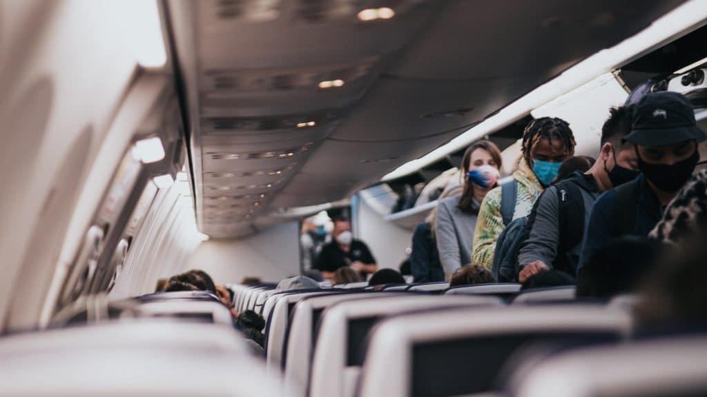 Flugzeug Einreise