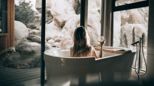 Romantikhotel Freistehende Badewanne 1