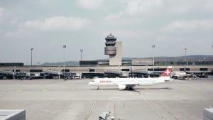 Swiss Flughafen Zürich