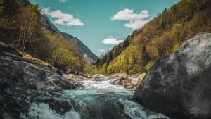 Tessin Schweiz Herbst